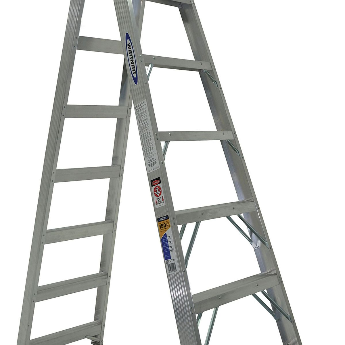 Platform Ladder Bunnings Double Sided Ladder Fibreglass 1 2m 150kg Werner