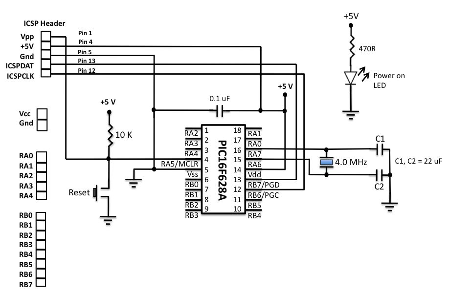 circuit diagram to breadboard