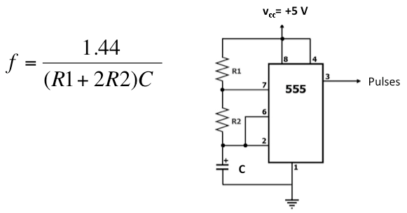 capacitance is a primary component in determining the frequency of