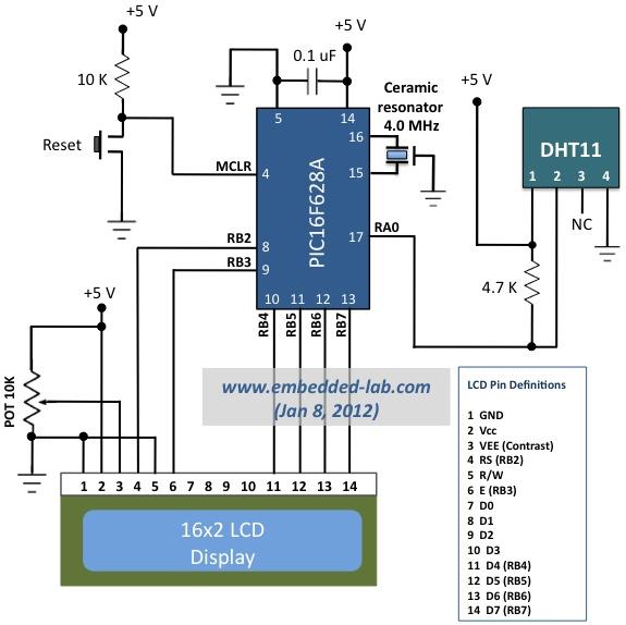 Dht11 Wiring Diagram - Wiring Diagrams