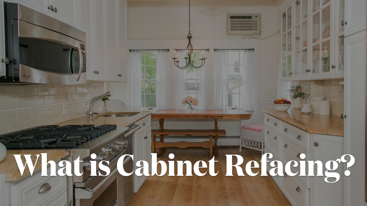 Building Kitchen Cabinets Video What Is Cabinet Refacing