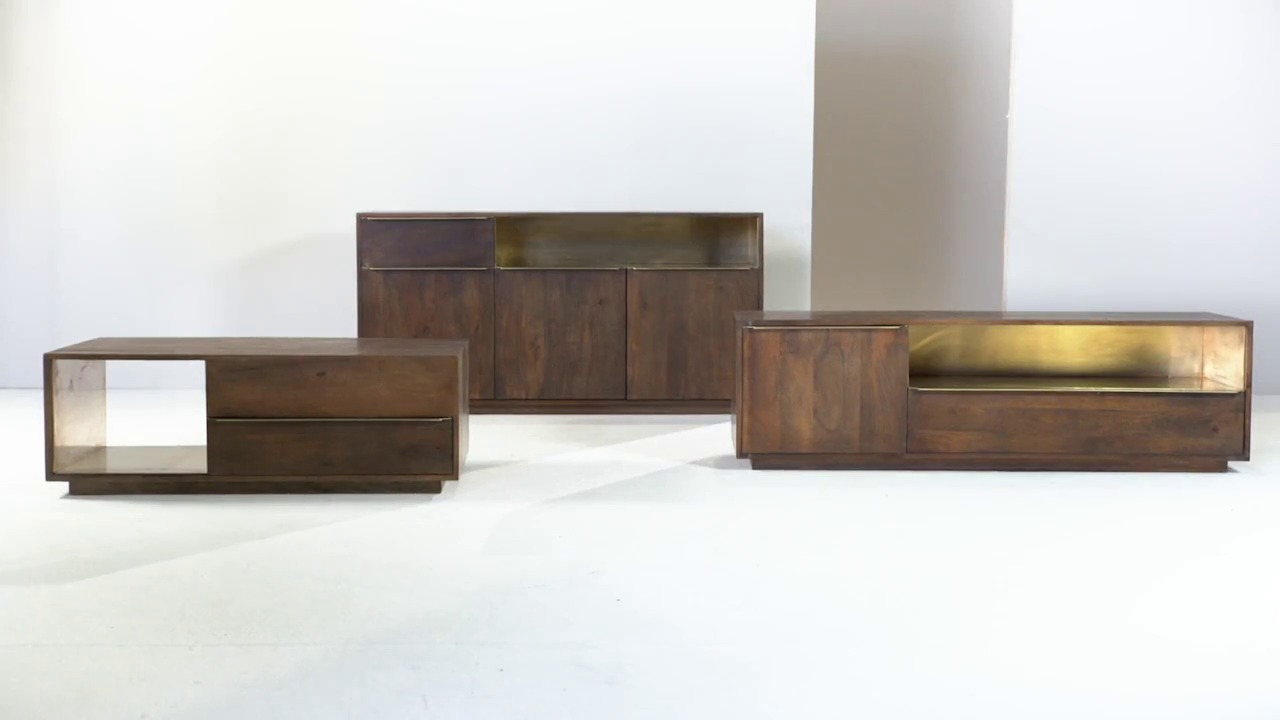 Chesterfield Couchtisch Anderson Coffee Table Mango Wood