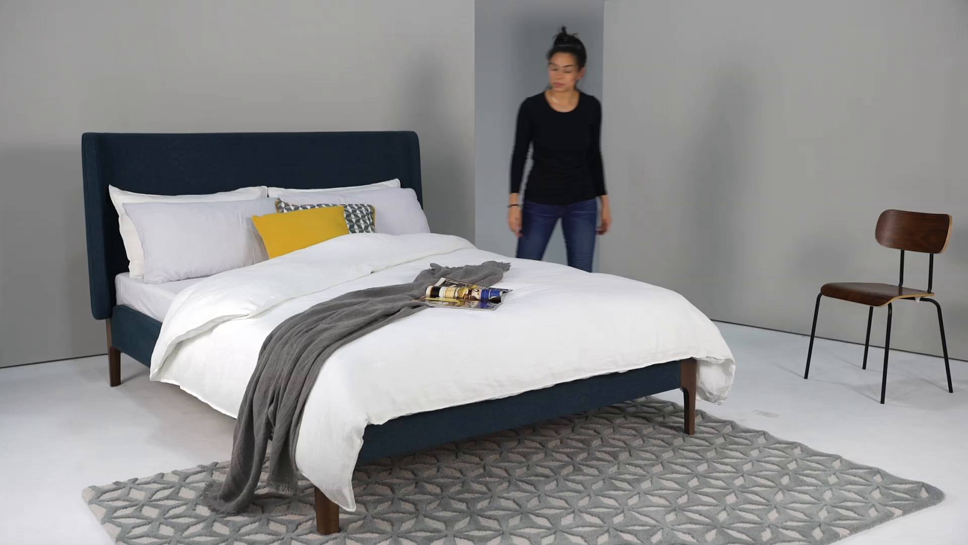 Small Super King Mattress Roscoe Bed