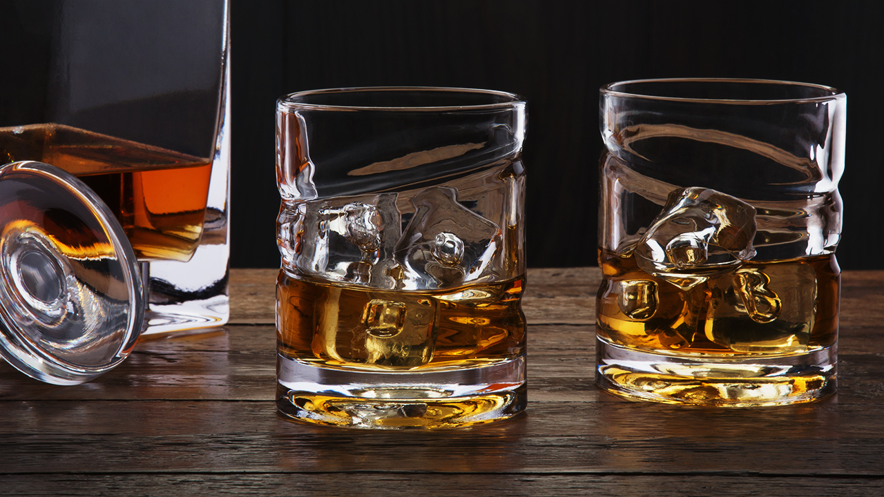 Wisky Glas Spinning Whiskey Spirits Glass