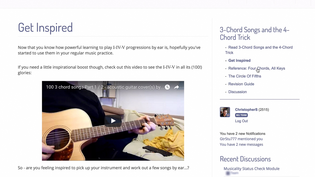 Colorful How To Play 3 Chord Songs On Guitar Crest Beginner Guitar