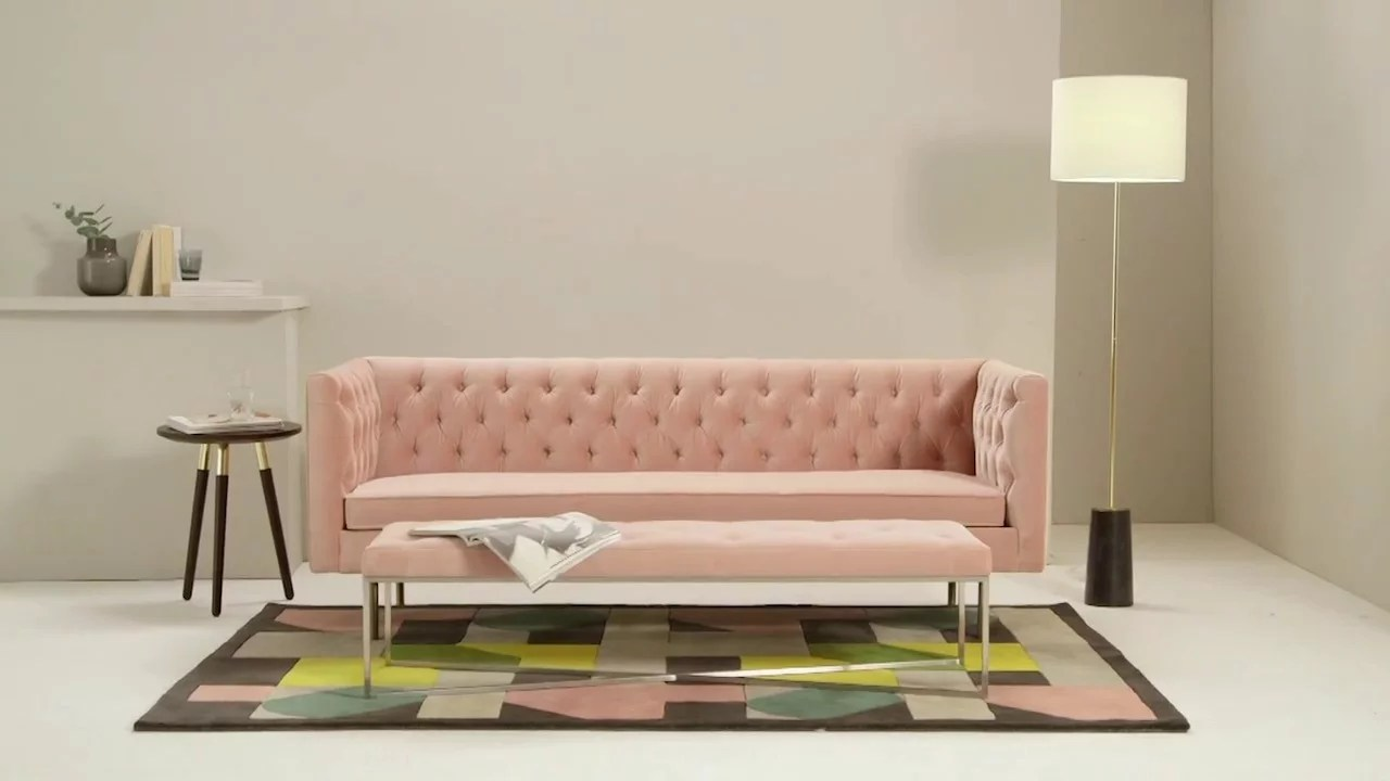 Made Sofa Velvet Julianne Collection