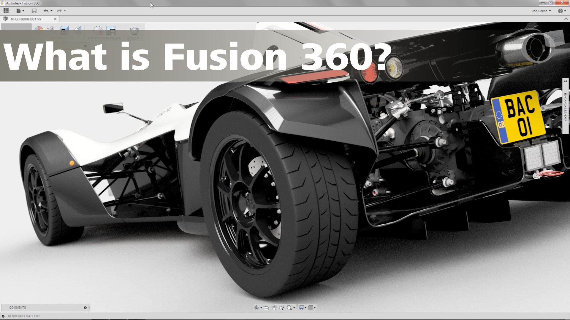 Import Car Wallpapers Fusion360