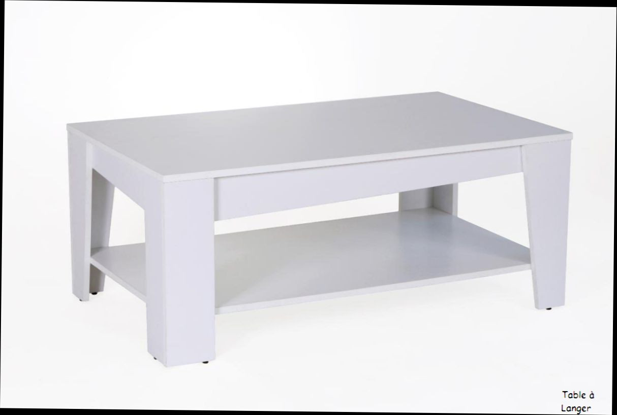 Table Basse Blanche Fly Table Basse Fly Laqué Blanc Emberizaone Fr