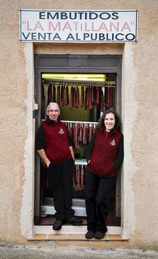 imagen de Alfredo y Lola dueños de La Matillana