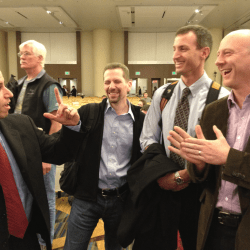 ZdoggMD, Me, Rob Orman, and Mike Cadogan