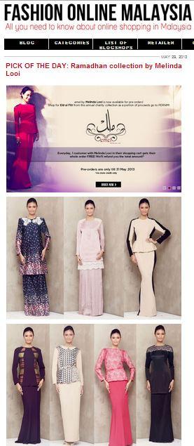 fashiono baju raya baju kurung online feature 2013