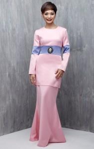 baju raya baju kurung moden emel 2016 raya 2016 colourblock