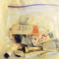 Travel Tips Tuesday: pack a bunch of samples