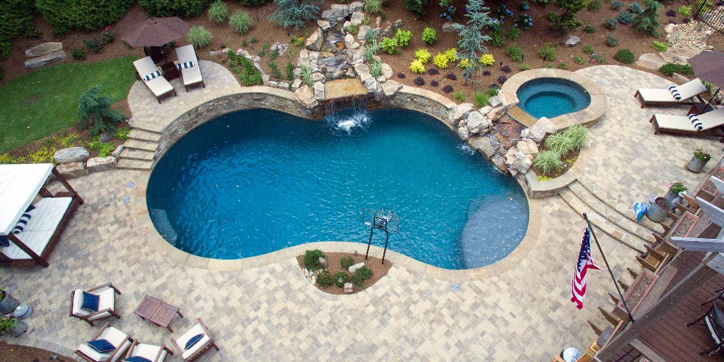 Jacuzzi Pool In Ground Salem Portland Pools Fireplaces Patio Furniture Hot Tubs