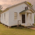 Elvis' Childhood Church at the Elvis Presley Birthplace Complex