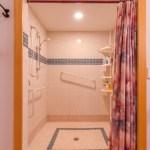 Shower in the Black Range Lodge