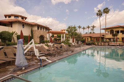 The main pool at the Miramonte Resort
