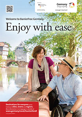 Cover of Barrier-Free Germany Guide