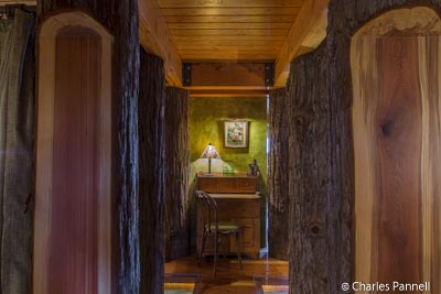"""Forest"" entry to room xxx at The Inn at Newport Ranch"