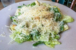 Chicken Caesar Salad at the Backstage Restaurant in Dollywood