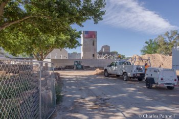 Engelstad Shakespeare Theater Under construction in the fall of 2015