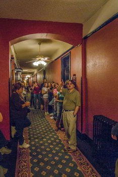 Ghost Tour in the Crescent Hotel in Eureka Springs, Arkansas