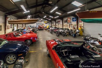 Inside the Busted Wrench Garage