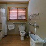 Toilet in Cabin 6 bathroom