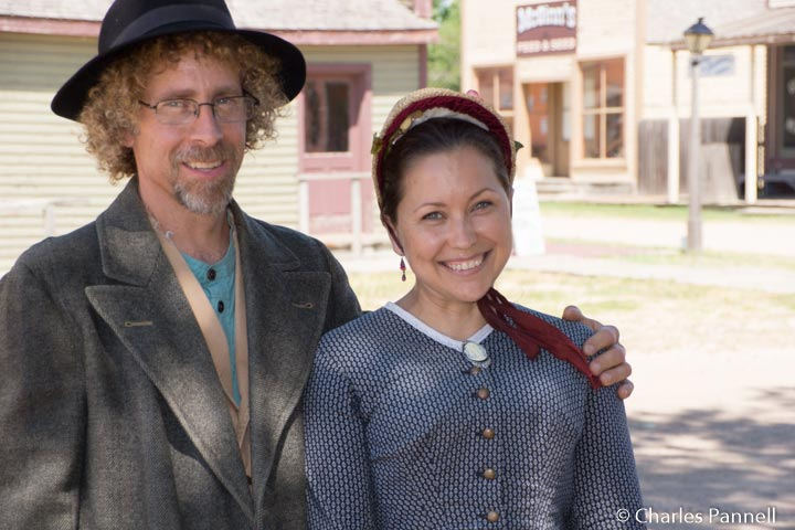 Costumed interpreters at Wichita's Old Cowtown