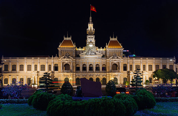 City hall, Ho Chi Minh City, Vietnam Photo - Diego Delso, delso.photo, License CC-BY-SA