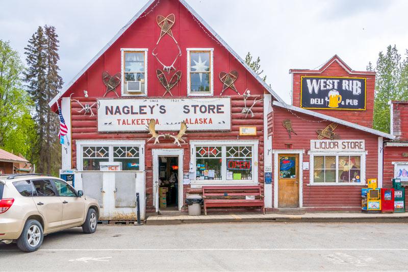 Nagleys Store in Talkeetna, Alaska