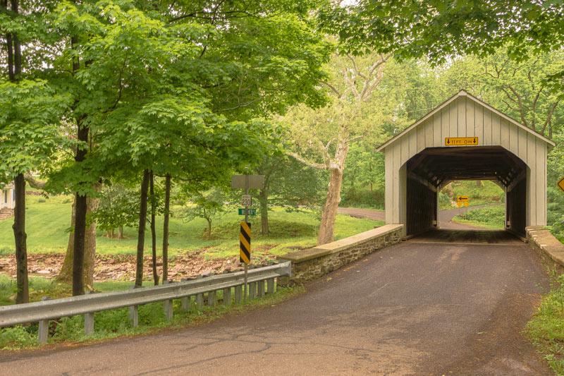 The Cabin Run bridge