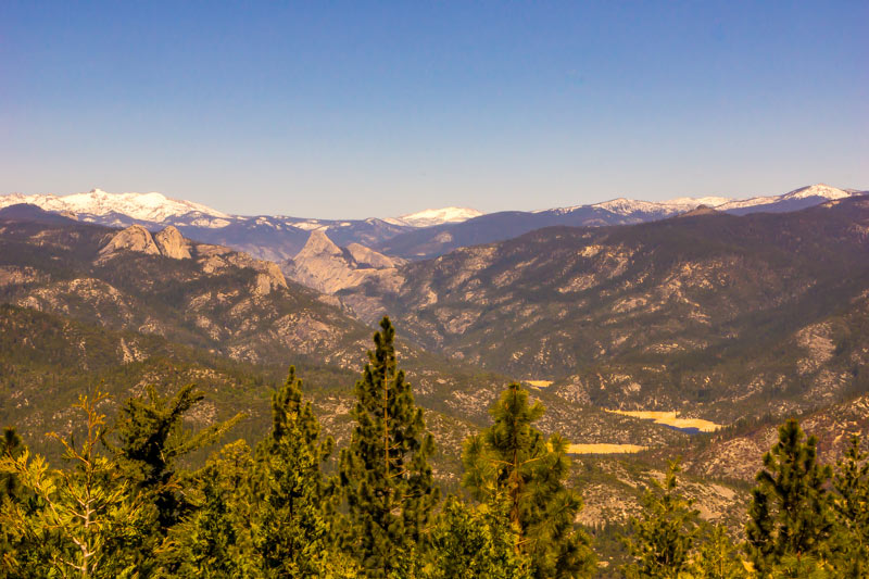 View from the Mile High Overlook on the Sierra Vista Scenic Byway