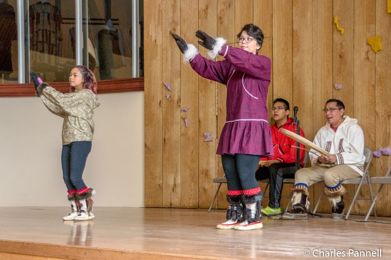 Traditional songs and dances demonstrated at the Alaska Native Heritage Center
