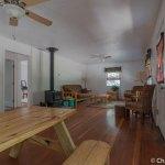 Great room in the Ponderosa Cabin