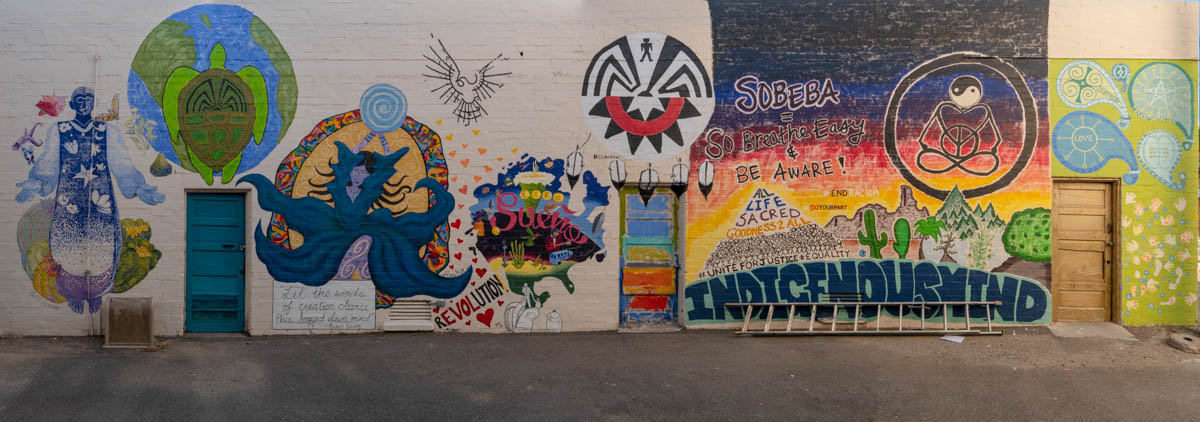 Artists Alley in Ajo, Arizona
