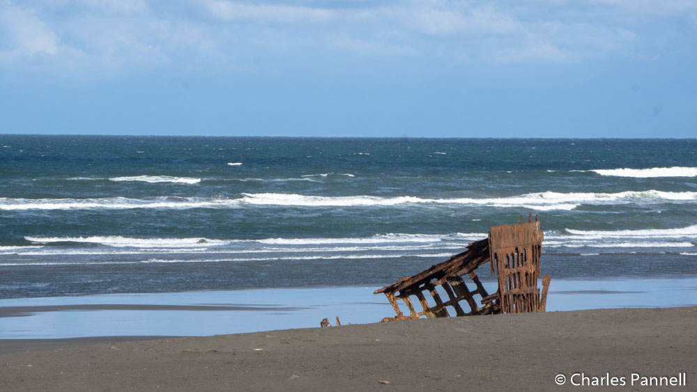 Remains of the Peter Iredale