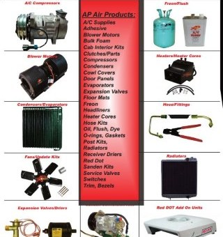 Air Conditioning Agricultural Heavy Equipment