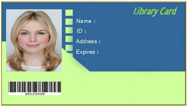 Free Editable Blank Library Card Template EmetOnlineBlog