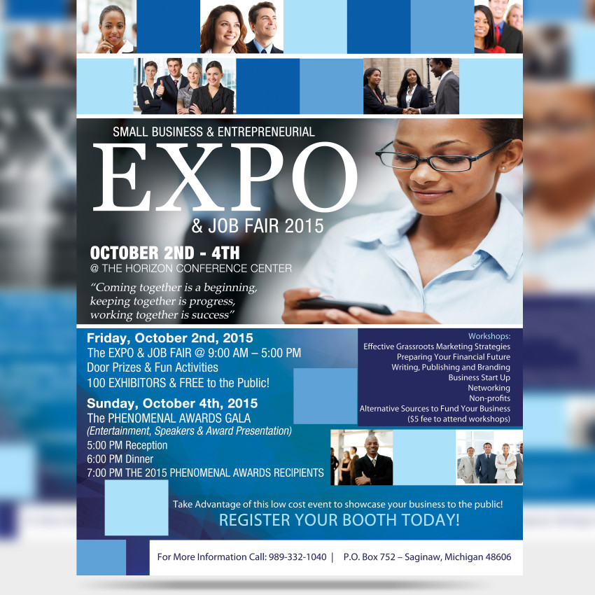 Business Expo Flyer - EMH Graphics - flyers for a business