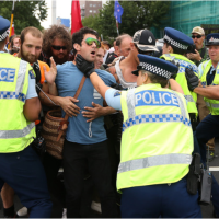 Round-Up of #TPPA Protest In New Zealand 4 February 2016