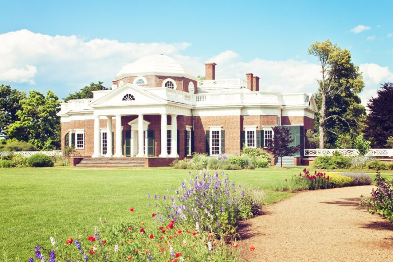 Monticello from the Back