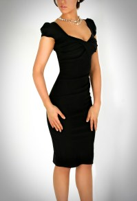 01  Cap Sleeve Fitted Bodice Dress | Emilio & Coco's Blog