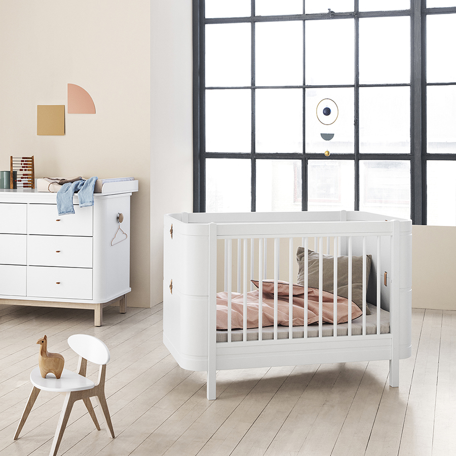 Kinderbett Für Baby Oliver Furniture Baby Und Kinderbett Wood Mini Basic Weiß