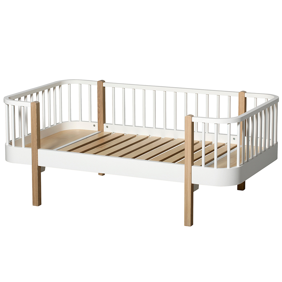Bettsofas Kinder Oliver Furniture Bettsofa Junior Wood Eiche