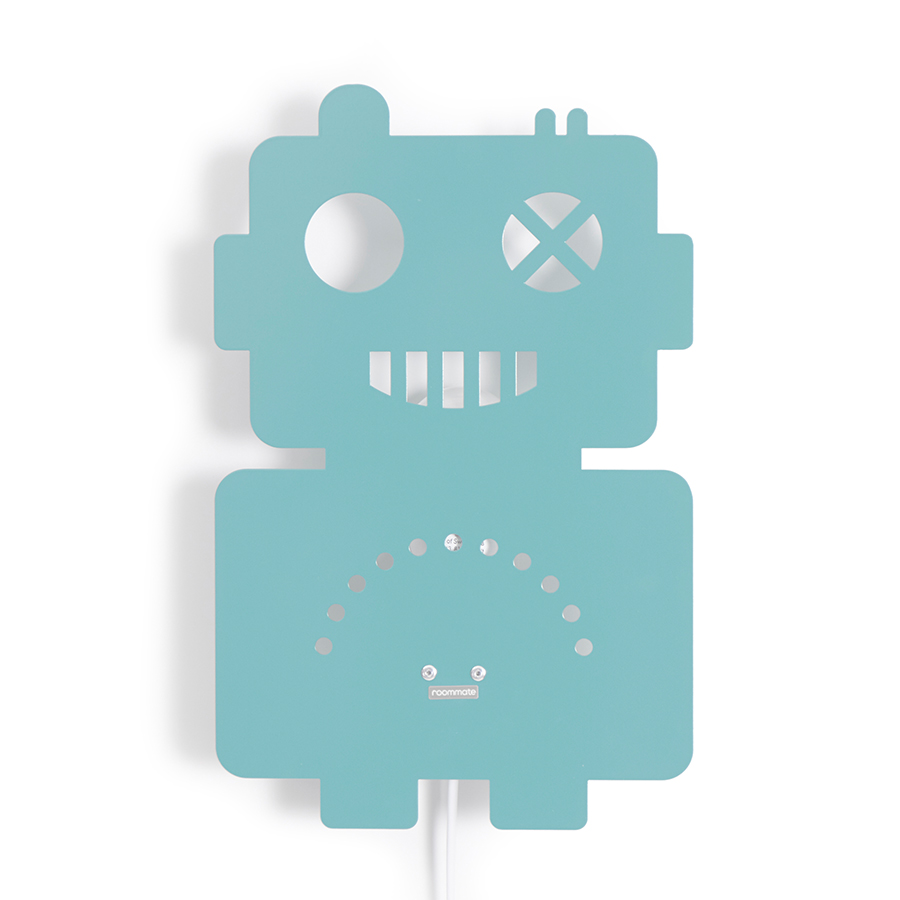 Lampe Online Kaufen Roommate Lampe Roboter Pastel Blue