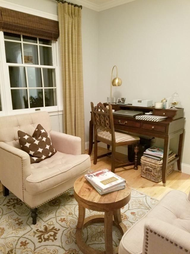 Office Archives - Emily A Clark - desk in living room