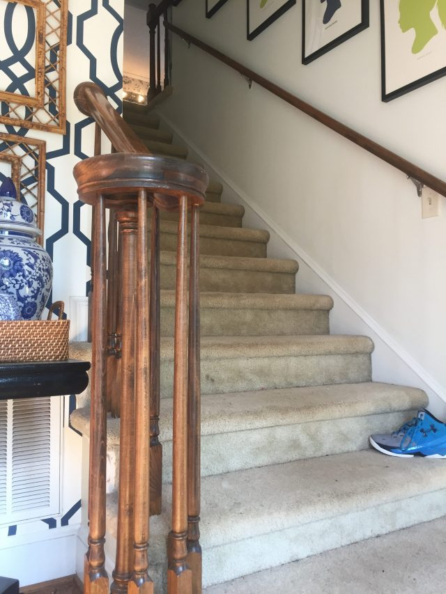 Our Antelope Stair Runner Before After Emily A Clark