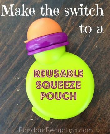 Reusable Squeeze Pouch