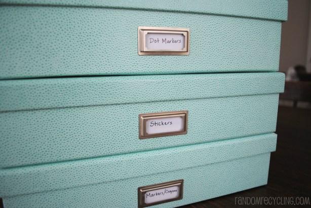 Craft Cabinet Storage RandomRecycling.com